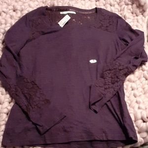 Nwt Maurices lace top